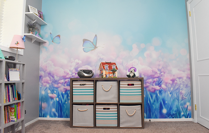 Limitless Walls Butterfly Mural